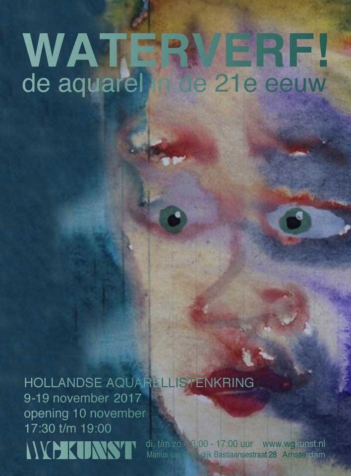 Waterverf! De aquarel in de 21e eeuw  WG KUNST, Amsterdam